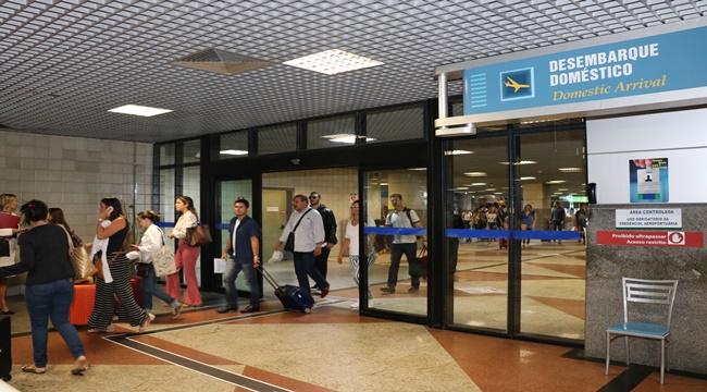Aeroporto de Salvador movimenta 854 mil passageiros e lidera o mercado do Nordeste