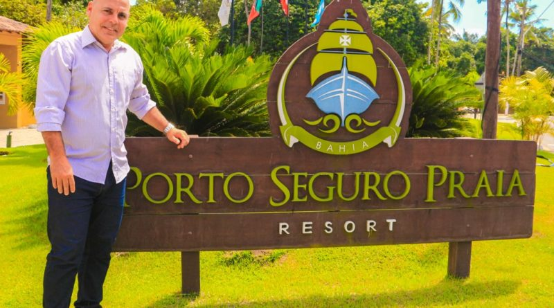 Guto Jones assume a gerência comercial do Porto Seguro Praia